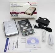 XIMETA NetDisk HDD External Enclosure NDAS Ethernet NEW