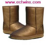 Classic Short Boots 5825Gold Free shipping