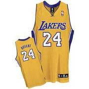Kobe Bryant #24 Yellow Jersey **Fully Stitched****