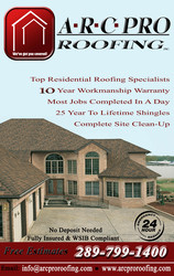 A.R.C. Pro Roofing Inc.