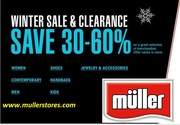 Muller Department Stores Savings Value Free Shipping 30% off sale ..