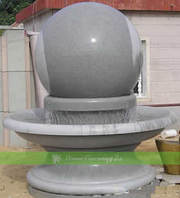Fantastic ball fountain for home décor and landscape architecture!