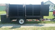 19.5' Custom BBQ Smoker - Trailer for catering or large festival