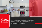 Professional Kitchen Cabinets Refinishing and Repainting