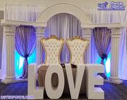 Best Jewish Theme Wedding Stage Decoration