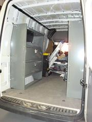 Dodge Sprinter Van Interior Shelving Storage